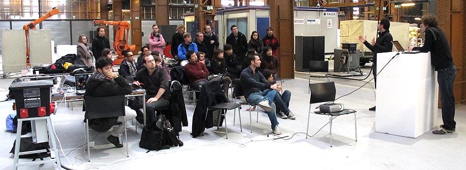 Robot Workshop @ Rotterdam